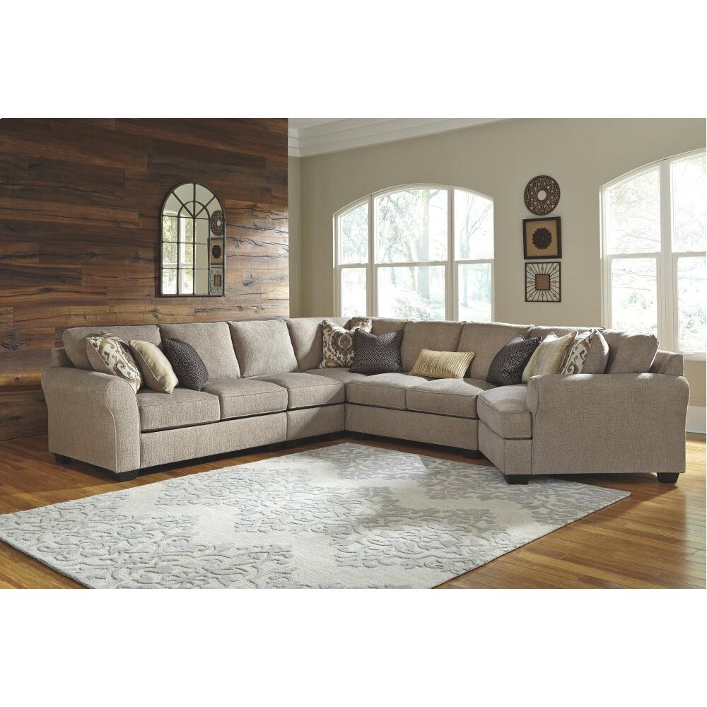 Product Image - Pantomine 5-piece Sectional With Cuddler