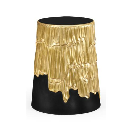 Gilded lamp table