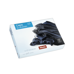 MieleWA CUD 0902 L - UltraDark capsules 9-pack of special detergent for dark and black laundry. EasyOpen.