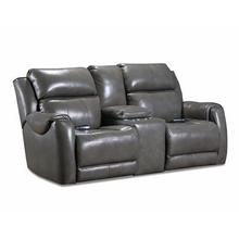See Details - SoCozi Safe Bet Power Headrest Sofa w/ Console