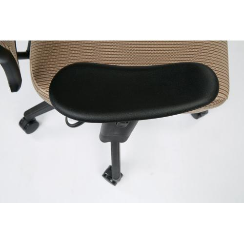 Deluxe Chair With Latte Veraflex Back and Veraflex Fabric Seat