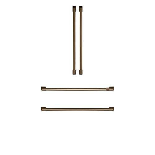 Café Refrigeration Handle Kit - Brushed Bronze