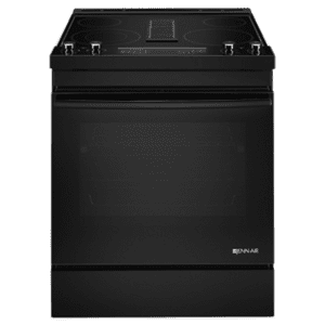 "JennAirBlack Floating Glass 30"" Electric Downdraft Range"