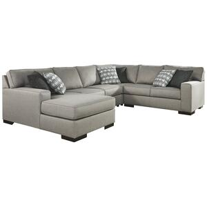 Marsing Nuvella 4-piece Sleeper Sectional With Chaise