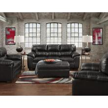 Austin Black (Sofa & Love) Love Seat