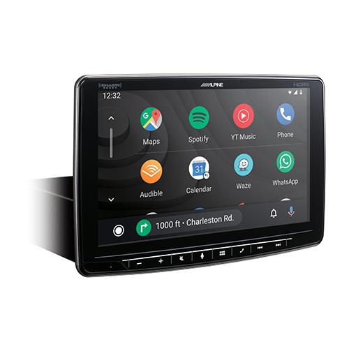Alpine Halo9 Multimedia Receiver with 9-inch Customizable Touchscreen Display