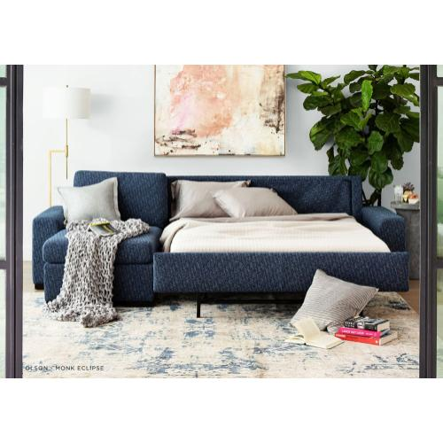 Olson Plush Sleeper Sofa - American Leather