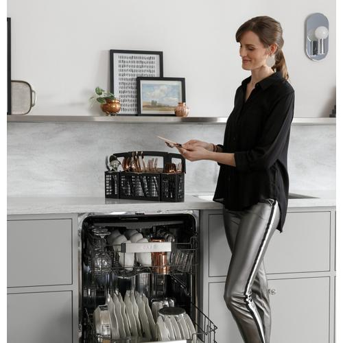 Product Image - Café™ Smart Stainless Steel Interior Dishwasher with Sanitize and Ultra Wash & Dual Convection Ultra Dry