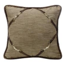 Highland Lodge Throw Pillow W/ Buckle Corners