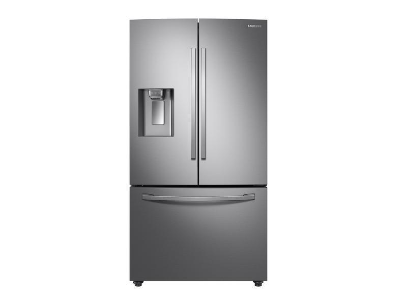 Samsung28 Cu. Ft. 3-Door French Door, Full Depth Refrigerator With Dual Ice Maker In Stainless Steel