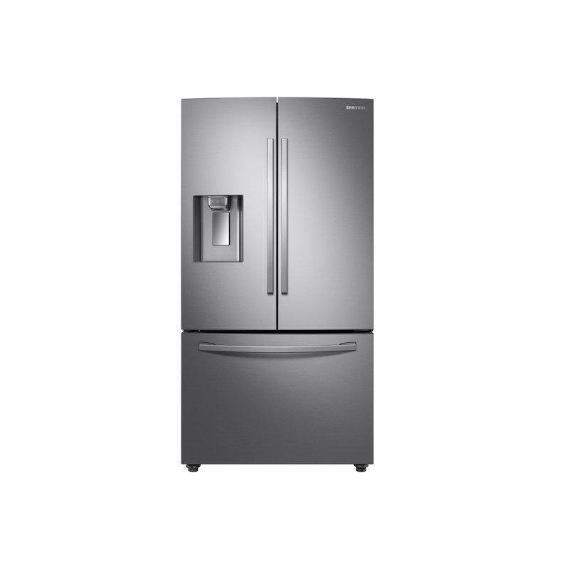 28 cu. ft. 3-Door French Door, Full Depth Refrigerator with Dual Ice Maker in Stainless Steel