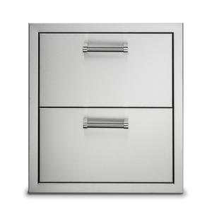 """Viking19"""" Stainless Steel Double Drawers - VODRD5191SS"""