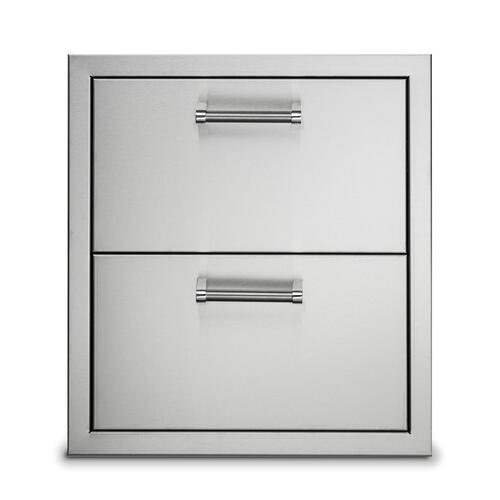 """Viking - 19"""" Stainless Steel Double Drawers - VODRD5191SS"""