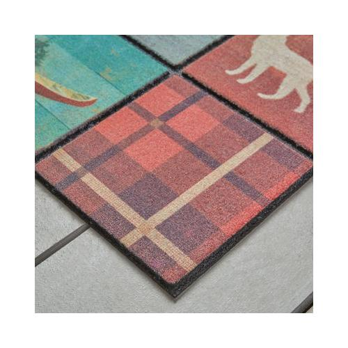Mohawk - Welcome In Tiles, Lodge Squares- Rectangle