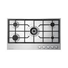 """See Details - Gas on Steel Cooktop, 36"""", LPG"""