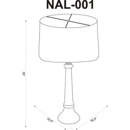 """Niall NAL-001 30""""H x 16.5""""W x 16.5""""D"""