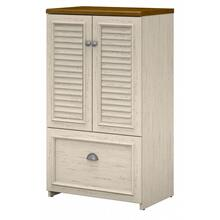 Fairview Shoe Storage Cabinet with Doors - Antique White