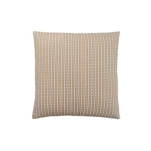 """Gallery - PILLOW - 18""""X 18"""" / LIGHT / DARK TAUPE ABSTRACT DOT / 1PC"""