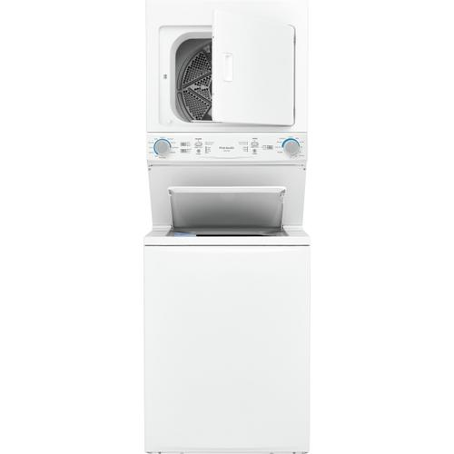 Gallery - Frigidaire Electric Washer/Dryer Laundry Center - 3.9 Cu. Ft Washer and 5.5 Cu. Ft. Dryer