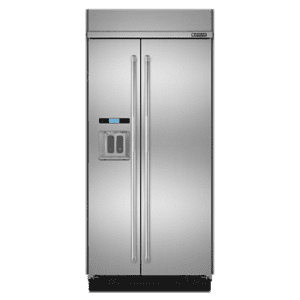 "Jenn-Air42"" Built-In Side-by-Side Refrigerator with Water Dispenser"