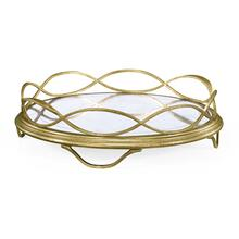 glomise & Gilded Circular Tray