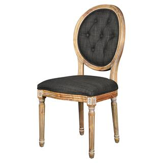 See Details - Meg Tufted Side Chair (urban Bark)