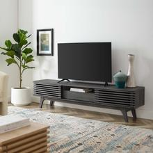 """See Details - Render 70"""" TV Stand in Charcoal"""