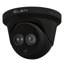 View Product - ELAN IP Fixed Lens 2MP Outdoor Turret Camera with IR (Black)