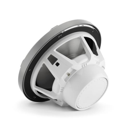 JL Audio - 10-inch (250 mm) Marine Subwoofer Driver, Gunmetal Sport Grille with RGB LED Lighting, 4