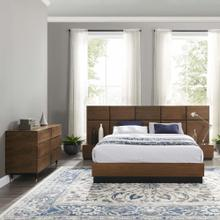 See Details - Caima 4-Piece Bedroom Set in Walnut
