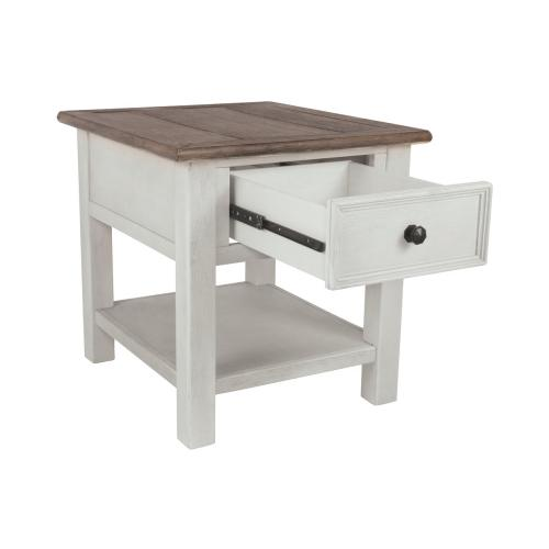 Bolanburg Rectangular End Table Two-tone