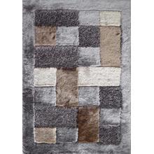 "Designer Shag S.V.D. 30 Area Rug by Rug Factory Plus - 7'6"" x 10'3"" / Earth"