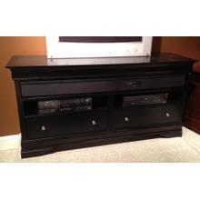 See Details - Black LP Surround Sound TV Stand
