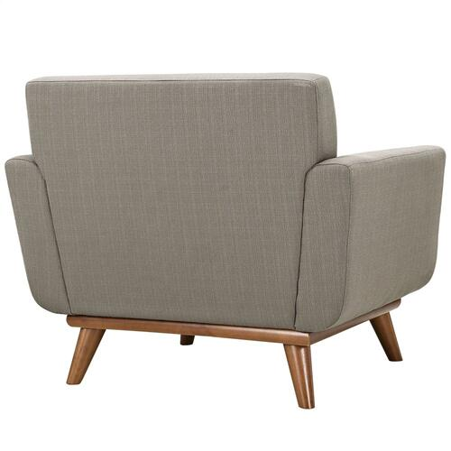 Engage Armchair Wood Set of 2 in Granite