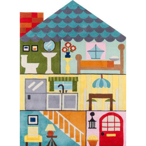 Lil Mo Whimsy Home Sweet Home Lmj-23 Multi - 2.0 x 3.0