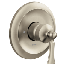 Wynford brushed nickel m-core 3-series valve only