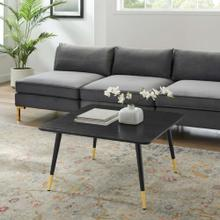 Vigor Square Coffee Table in Black