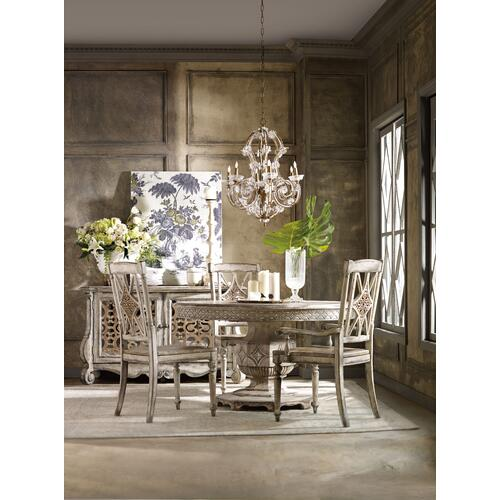 Product Image - Chatelet Round Dining Table with One 20'' Leaf