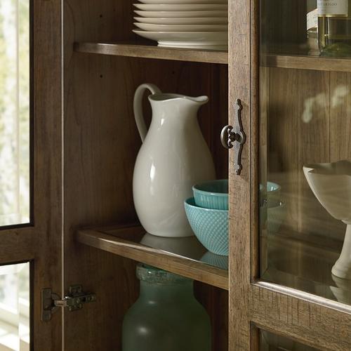 Bassett Furniture - Woodridge Glass Door Wine Cabinet