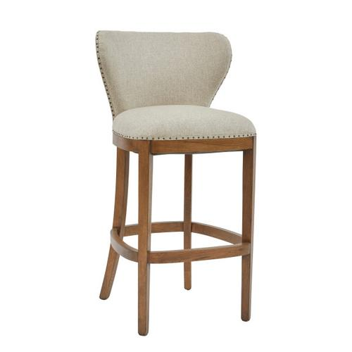 Farmhouse-Inspired Deconstructed Barstool
