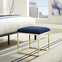 See Details - Anticipate Ottoman in Gold Navy