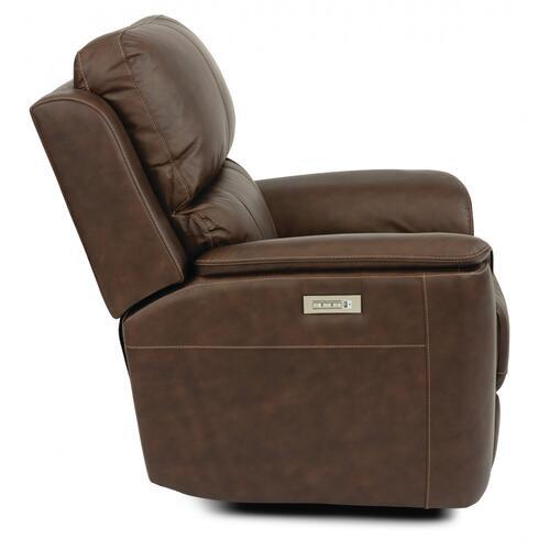 Henry Power Recliner with Power Headrest & Lumbar