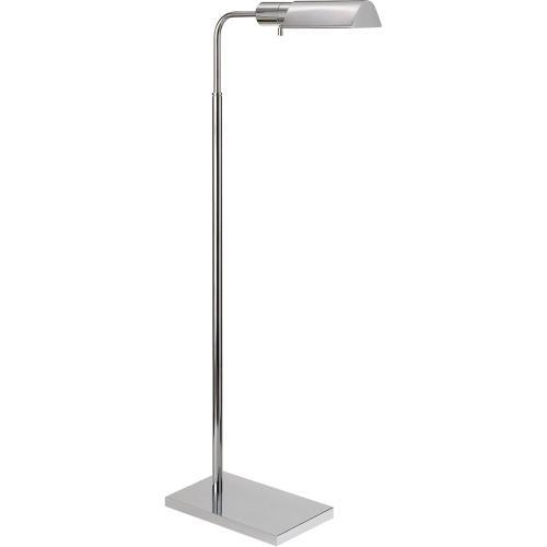 Visual Comfort 91025PN Studio Classic 34 inch 60 watt Polished Nickel Task Floor Lamp Portable Light