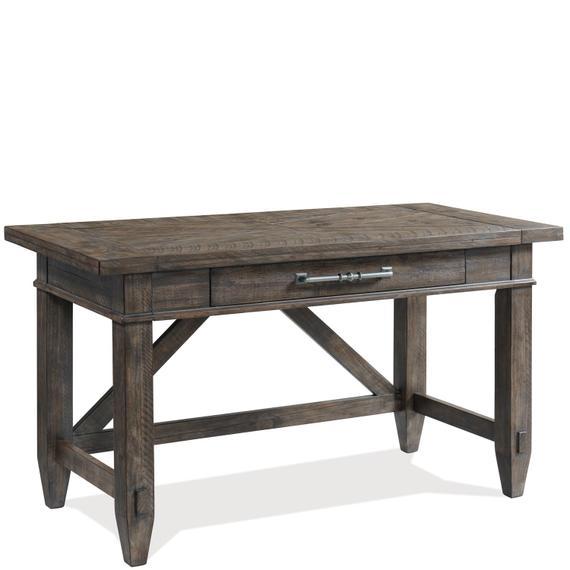 Riverside - Bradford - Writing Desk - Rustic Coffee Finish
