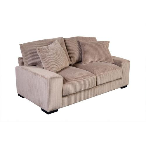Big Chill Tan Sofa, Loveseat & 1.5 Chair, U2247