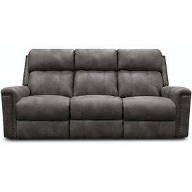 1C01N EZ1C00 Double Reclining Sofa with Nails