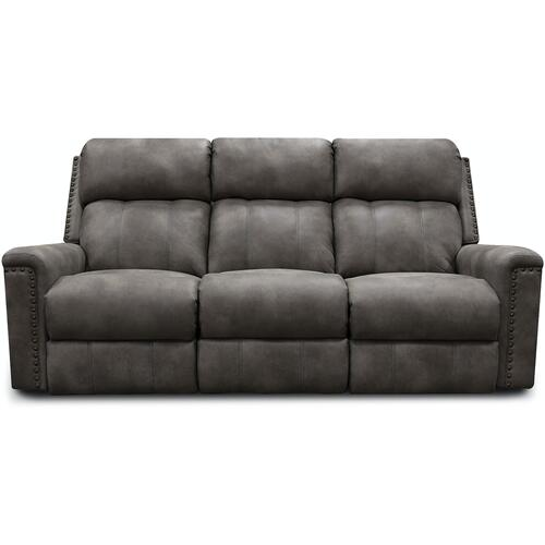 1C01HN EZ1C00H Double Reclining Sofa with Nails