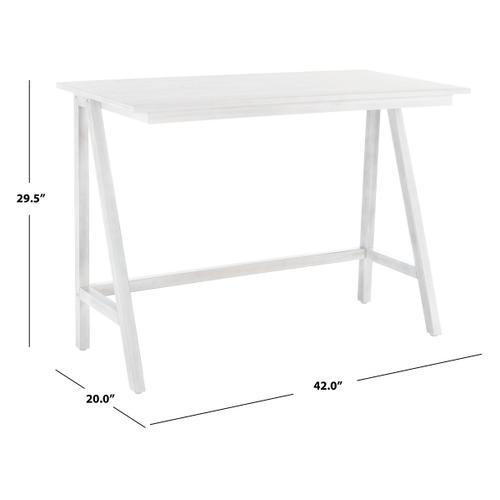 Redding Desk - White Wash