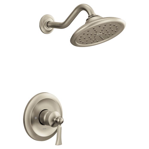 Wynford brushed nickel m-core 3-series shower only