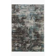 View Product - KT-02 Charcoal / Blue Rug